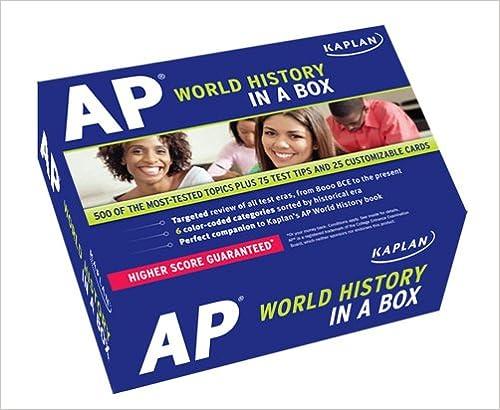 Kaplan AP World History in a Box: Kaplan: 9781607147831