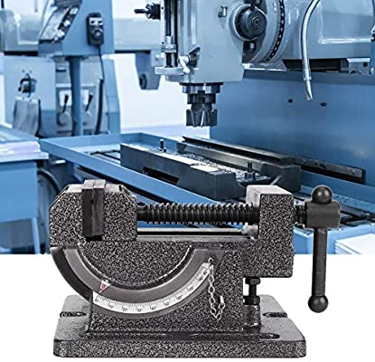 Drill Bracket Series Mini Drill for Incremental Drilling Accuarncy Work Tilting Drill Press Vise Milling Vise Cast Steel Drilling Machine Fixture