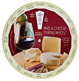 Complementary Wines and Cheeses Pairing Matching Guide Wheel