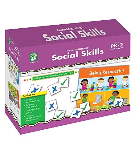 File Folder Activities Centers - Social Skills File Folder Game
