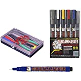 Multi Buy Deal: Tamiya Basic Tool Set + GM01 Black Fine Line + GSI Creos Gundam Marker Basic Set (6 Markers)