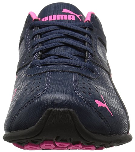 Puma Kvinna Tazon 6 Accent Wns Cross-trainer Sko Peacoat-puma Svart-knockout Rosa
