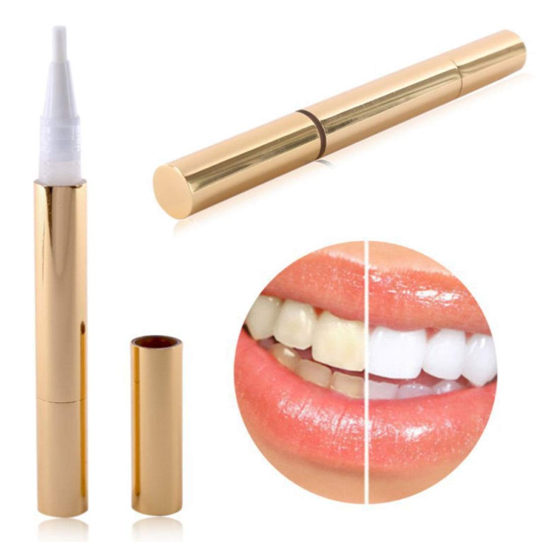 Amazon.com: Creative Effective Teeth Whitening Gel Pen Tooth Gel Whitener  Bleach Stain Eraser Sexy Celebrity Smile Teeth Care Oral Care: Beauty