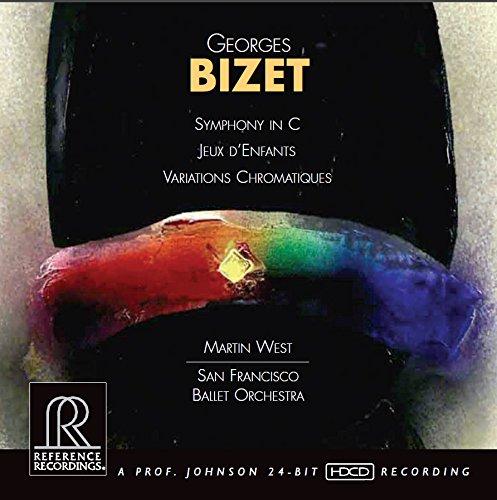 Bizet: Symphony in C major; Jeux d'Enfants; Variations chromatiques