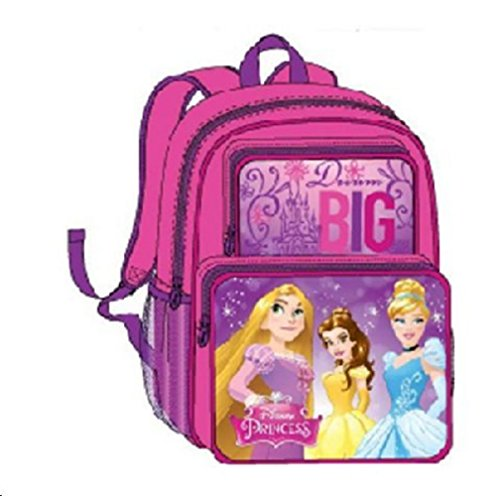 "Price comparison product image Disney Princess Backpack Large School Bag 16"" Rapunzel new"
