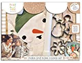 Christmas Cookie Baking and Decorating Kit for Kids