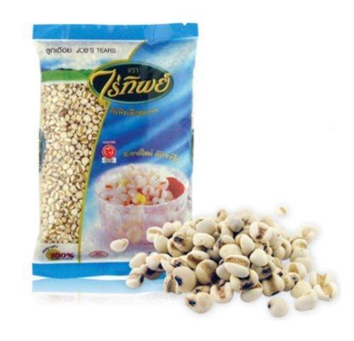 Raitip Organic Job's Tears, Adlay Seed, Chinese Pearl Barley (17.6 Oz)