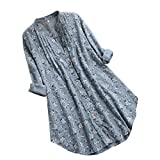 Gibobby Womens Summer V Neck Front Tie Knot Button Down Tank Tops Casual Sleeveless Shirts Green