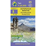 Asterousia - Phaistos Wanderkarte Blatt 11.18 1 : 25 000
