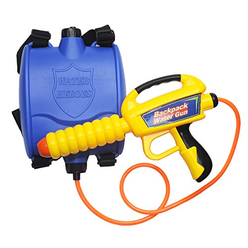 Lydaz Water Gun Backpack Pump Squirt Gun Soaker Blaster High Capacity Long Range with Tank Outdoor Swimming Pool Beach Summer Toys for Kids
