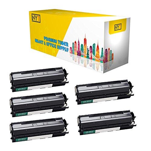 (New York Toner New Compatible 5 Pack UG-5510 High Yield Toner for Panasonic - PanaFax UF 790   DX 800 . -- Black)