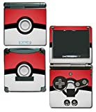 Pokemon Pokeball Pikachu Special Edition Video Game Vinyl Decal Skin Sticker Cover for Nintendo GBA SP Gameboy Advance System