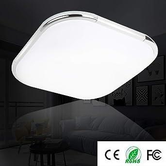 LED Deckenleuchte Wohnzimmer Tages-Licht Büro Badezimmer Lampe Beleuchtung Küche