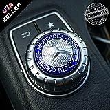 US85 Mercedes-Benz Car AMG Style Interior Multimedia Control Decal Sticker Badge Decoration Logo