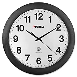 Lorell 12quot; Radio Controlled Wall Clock