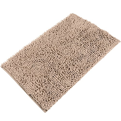 "Can Bathroom Rugs Go In The Dryer: Sunnyglade 23.6"" X 35.4"" Non-slip Chenille Fabric"