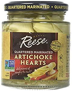 Reese Marinated Artichokes Hearts, 7.5-Ounces (Pack of 12)