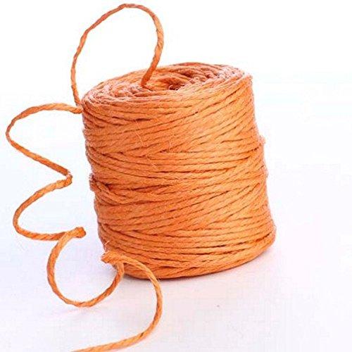 /arancione /50/metres iuta spago rotolo corda naturale cordoncino per Art /& CRAFT Gift imballaggio decorazione/ Kraftz/®/