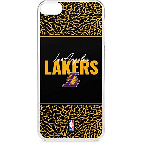 NBA Los Angeles Lakers iPod Touch 6th Gen LeNu Case - Los Angeles Lakers Elephant Print Lenu Case For Your iPod Touch 6th Gen