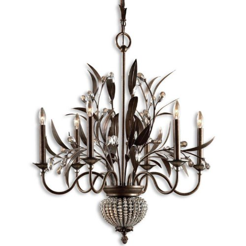 Uttermost 21017 Cristal de Lisbon 6 Plus 2-Light Chandelier