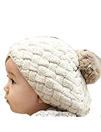 Tenworld Fashion Baby Kids Girls Warm Winter Knit Crochet Beanie Hat Cap Hot