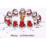 Lustige weihnachtskarte weihnachtsm nner in new york umschlag witzige und originelle - Weihnachtskarten amazon ...