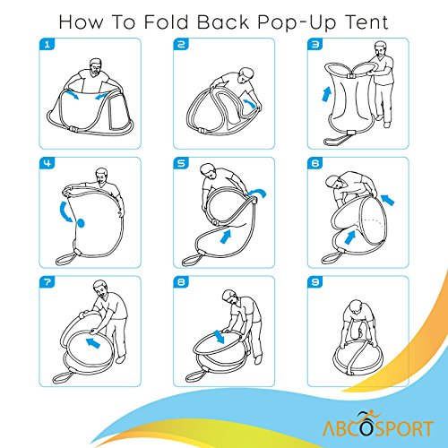 Amazon.com  Pop-up Tent An Automatic Instant Portable Cabana Beach Tent - Suitable For upto 2 People - Doors on Both Sides - Water-resistant u0026 UV ...  sc 1 st  Amazon.com & Amazon.com : Pop-up Tent An Automatic Instant Portable Cabana ...