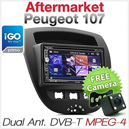 Reproductor de DVD GPS para Coche, Reproductor de MP3, DVB-TMPEG-4