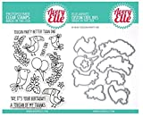 ShopForAllYou Stamping & Embossing (Stamp & Die Bundle)''Toucan Party'' Clear Stamps Only OR Clear Stamp & Die Bundle