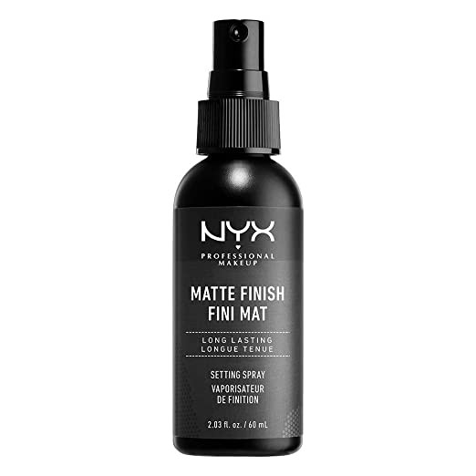 NYX Professional Makeup Make Up Setting Spray, Matte Finish / Long Lasting, Midnight, 2.03 Ounce