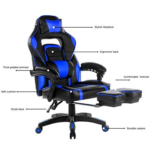 510pwg%2BcoSL - Merax-Racing-Office-Chair