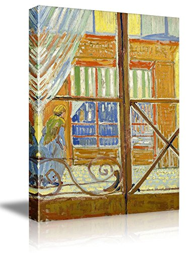 A Pork Butchers Shop Seen from a Window by Vincent Van Gogh Oil Painting Reproduction
