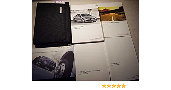 2012 Audi A4 Owners Manual