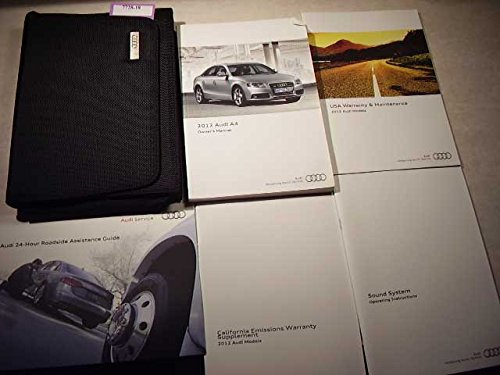 2012 audi a4 owners manual - 1