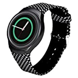 Samsung Watch Band,Owill® New Arrival Luxury TPU Silicone Adjusted Soft Watch Band Strap For Samsung Galaxy Gear S2 SM-R720 10 Colors (C)