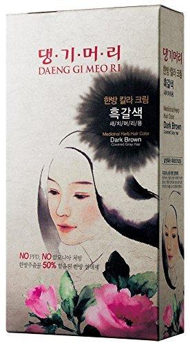 Medicinal Herb Hair Color (No Ammonia & No PPD) (Dark Brown)Buy2 Get1Free! by Daeng Gi Meo - Stores Ri Mall
