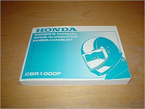 1990 1992 honda cbr1000 f, cbr 1000 f workshop service repair manual ….