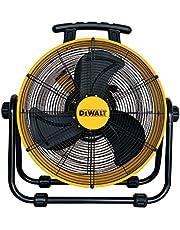 Dewalt vloerventilator/trommelventilator, geel, 20 inch