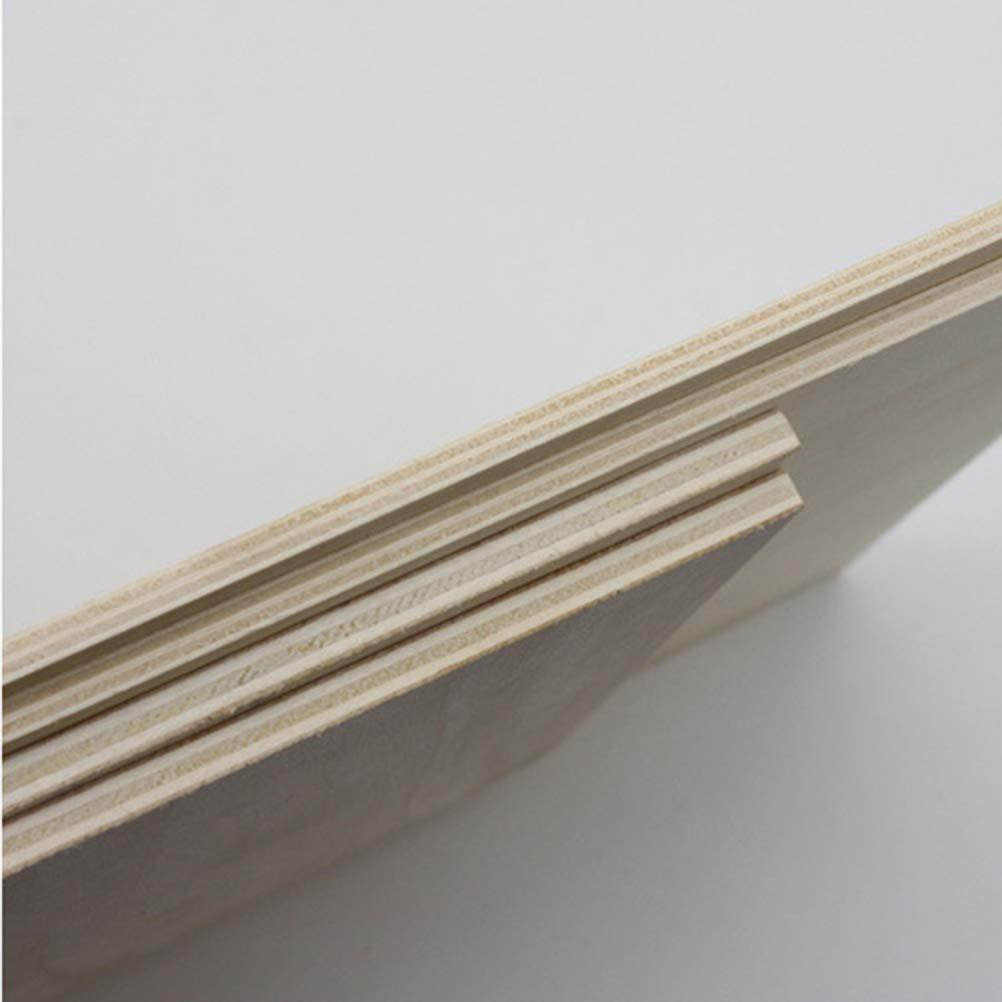 SUPVOX Planche en Bois pour Dessin Art Bois Tableau de Dessin Chevalet Outil de Peinture A4 16k 3 Pcs