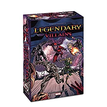 Legendary Marvel Deck Building Game: Villains Core: Upper ...