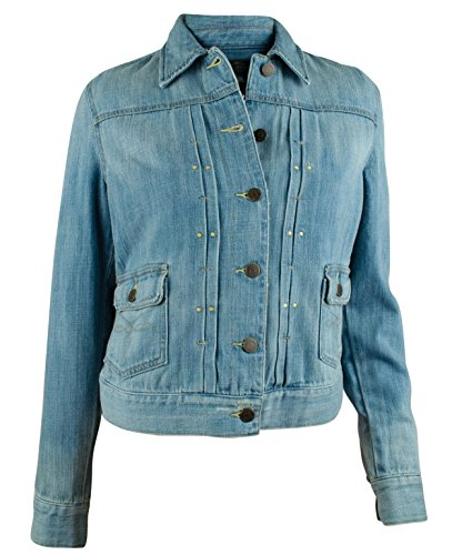 Co Embroidered Denim Jacket - 9