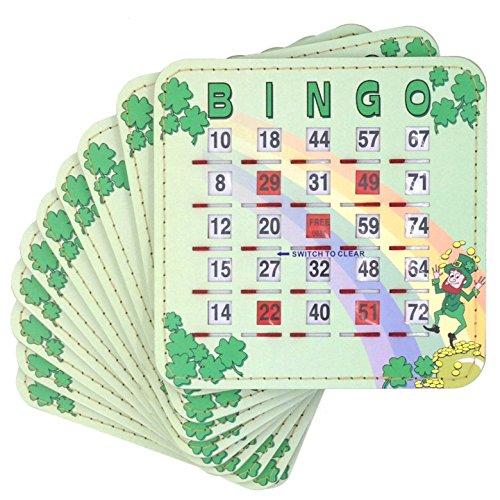 Tapp Collections Bingo Shutter Cards 10-pk - Irish Theme -
