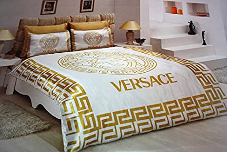 Versace New Lenzuola in Satin Queen Size spedizione DHL ...