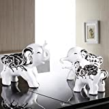 Elephant Decoration Home Accessories Living Room Wine Coolers TV Cabinet Decorations