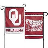 "WinCraft Oklahoma Sooners 12""x18"" Garden Flag - red"