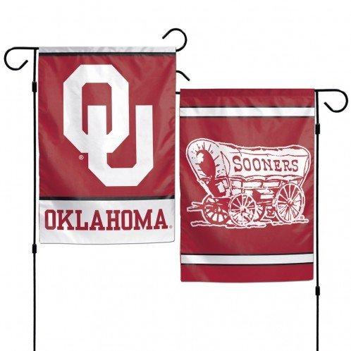 Oklahoma Sooners 12 X18  Garden Flag