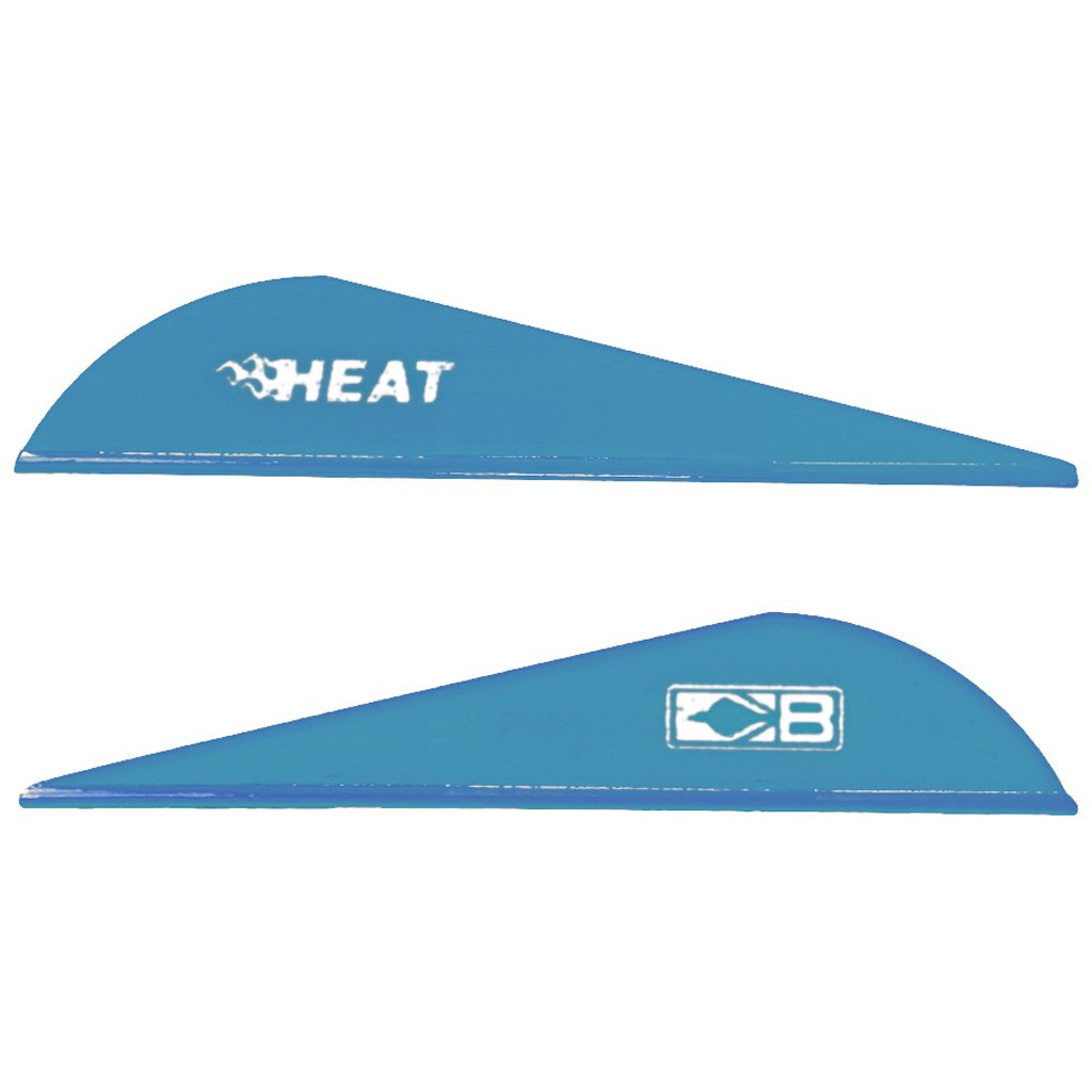 Bohning 2.5'' Heat Vanes Satin Blue 2.5'' Heat Vane, 36pk