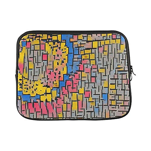 Tabloid Abstract Mixed Media Sleeve Soft Laptop Case Bag Pouch Skin For Macbook Air 11