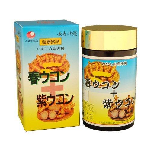 比嘉製茶 春ウコン+紫ウコン粒 700粒 3個セット B00601GWJQ