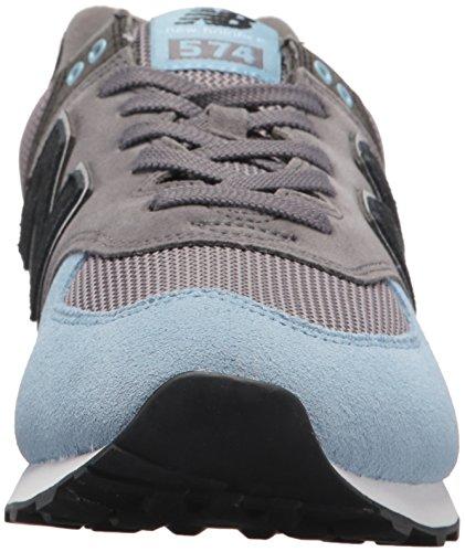 Ny Balans Mens 574 Orm Luxe Sneaker Castle Med Klar Himmel